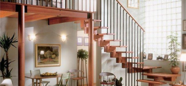 Scale per interni in legno per una soluzione sia classica - Costo scale in legno per interni ...