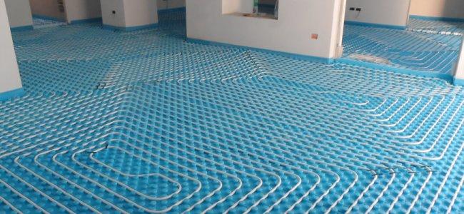 Riscaldamento a pavimento pro e contro dell impianto a - Tappeto riscaldamento pavimento ...
