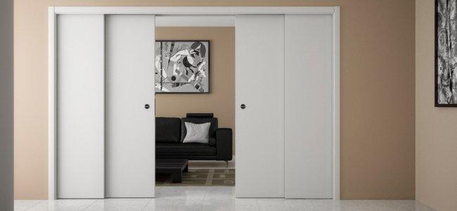 Porte a scorrimento esterno o interno differenze e prezzi numeroutile trova professionisti - Porte a scorrimento esterno ...
